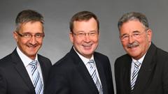 Stefan-Markus Eschner, Thomas Rühl und Jürgen Topp