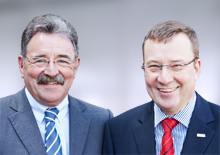 Jürgen Topp und Thomas Rühl