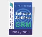 Schwetz CRM-Zertifizierung: Höchstnoten für CURSOR-CRM...