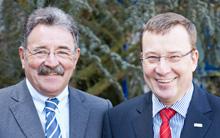 Thomas Rühl und Jürgen Topp